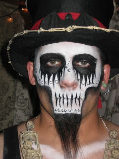 sherries customs witch doctor makeup a makeup looks