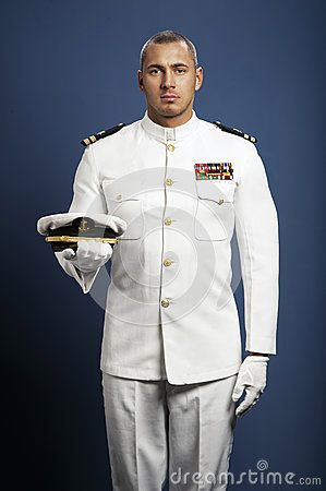 Stock Photo about Handsome captain sea ship
