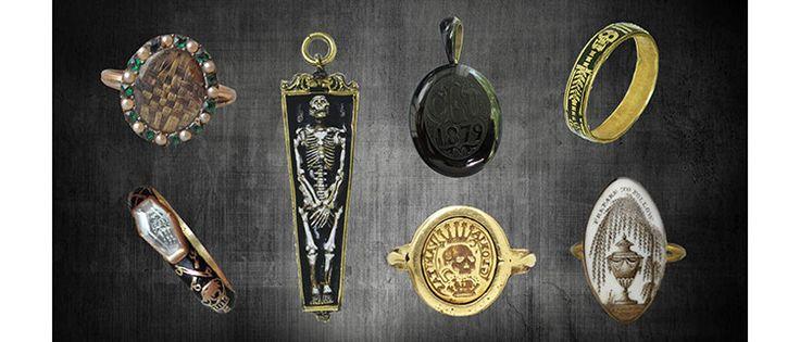 Memento Mori and Mourning Jewelry