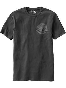 Mens California Surf Tees