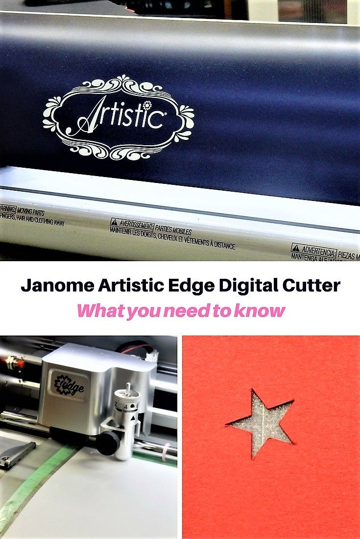 Introduction to the Artistic edge digital cutter