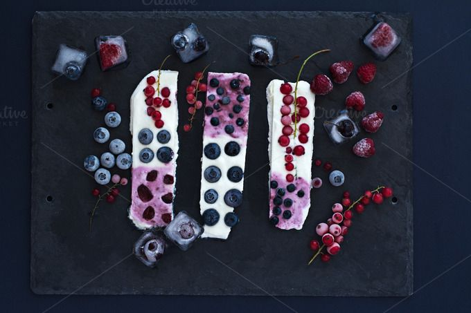 Snack with frozen fruits. Top view. by kawizen  on @creativemarket  #dessert #healthy #frozen #fresh #summer #beautiful #closeup #natural #white #bar #bars #fruits #berry #fruit #tasty #berries #sweet #blueberries #currant #delicious #organic #raspberries #frosty #redcurrant #yoghurt #icy #yogurt #refreshing #nutrition #fruity #season #seasonal #tabletop #tabletopview #topview #icecube #icecubes #frozenfruits