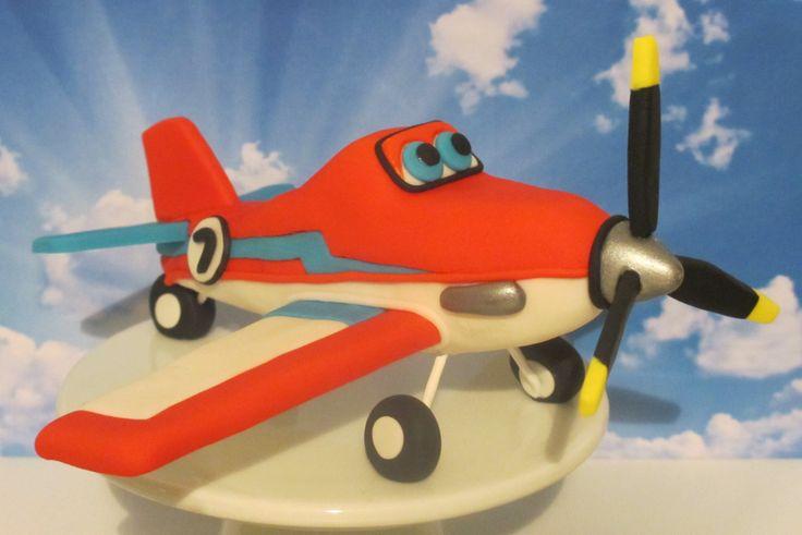 Planes Dusty Crophopper Fondant Cake Decoration