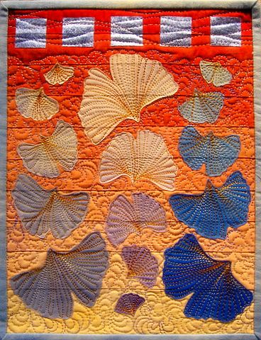 Norma Schlager - Gingko Leaves