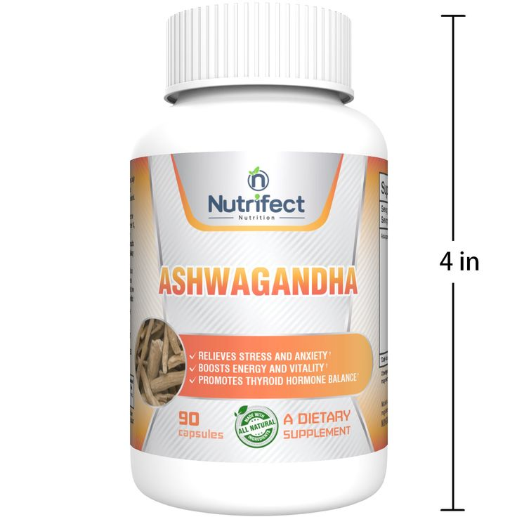 nutrifect nutrition 1000mg pure ashwagandha root