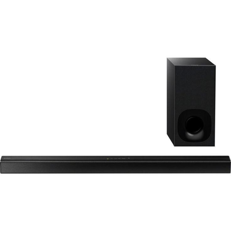 Sony HT-CT180 2.1 Sound Bar Speaker - 100 W RMS - Desktop, Wall Mountable - Wireless Speaker(s) - Dolby Digital, Dolby Dual Mono, Virtual Surround Sound - Bluetooth - Near Field Communication - Wireless Audio Stream, Night Mode, ClearAudio+, S-Master digi