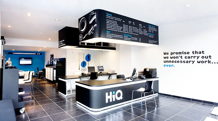 Nearest Auto Repair Shop >> Fitch: HiQ Nottingham | Tyre & mechanical workshop ideas