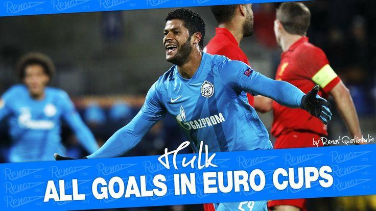 Hulk - All Hulk goals in euro cups for FC Zenit