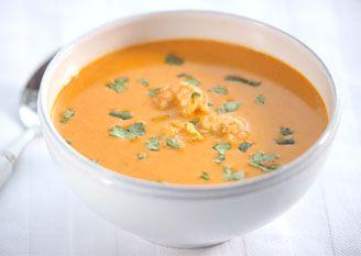 Prawn, Lemongrass and Coconut Soup