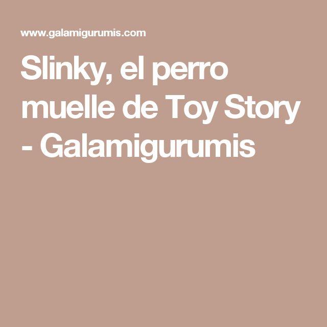 Slinky, el perro muelle de Toy Story - Galamigurumis