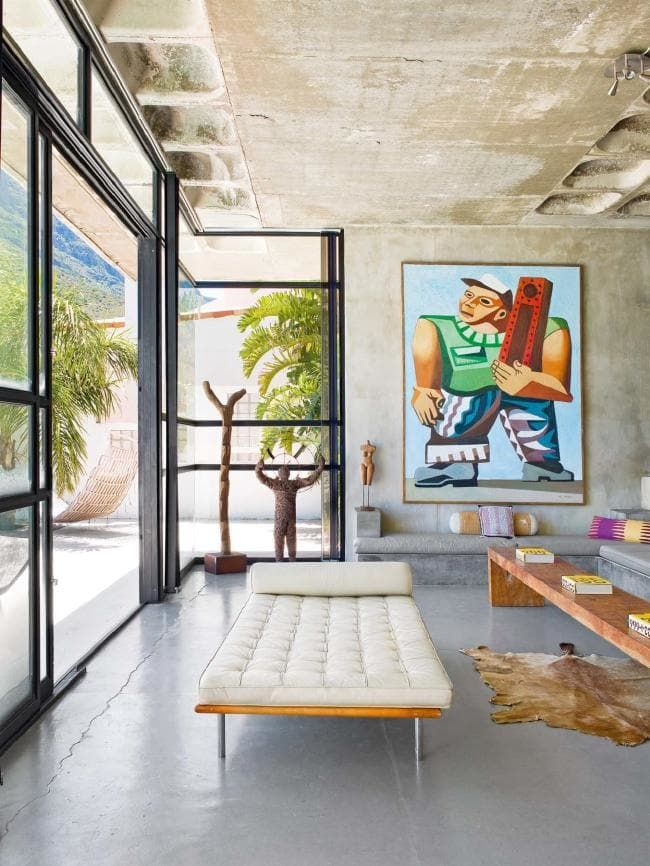 House Tour A French Photographer S Beachside South African Home