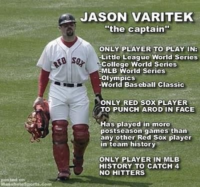 Jason Varitek. My favorite!