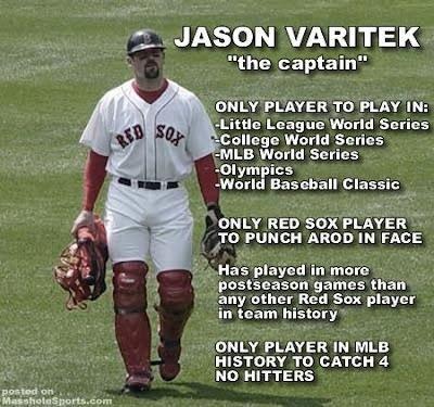 Jason Varitek. My favorite!