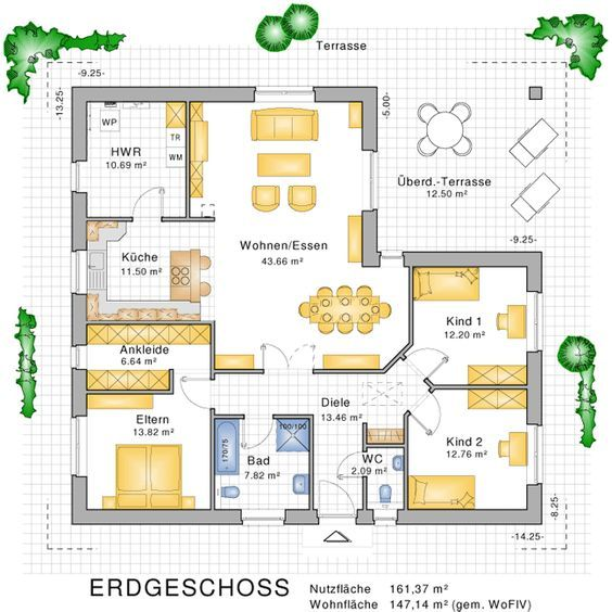 Traumhaus grundriss bungalow  Die besten 25+ Haus skizze Ideen auf Pinterest | Bauplan haus ...