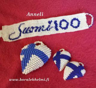 Koralek – käsintehdyt korut : Annelin Suomi 100 koruja