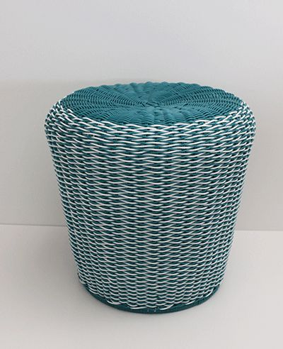Clever design that allows you to use as a stool or as an awesome plant container.