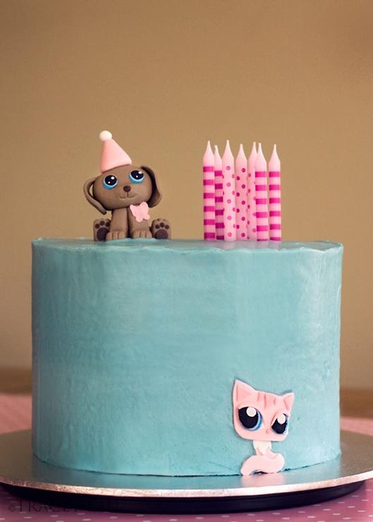 30 Best Images About Little Pet Shop Fondant Cake On