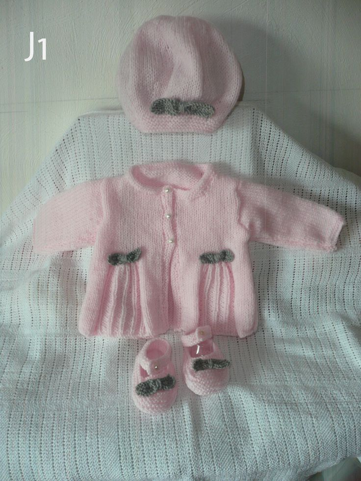 pale pink and grey contrast to fit 3-6 months