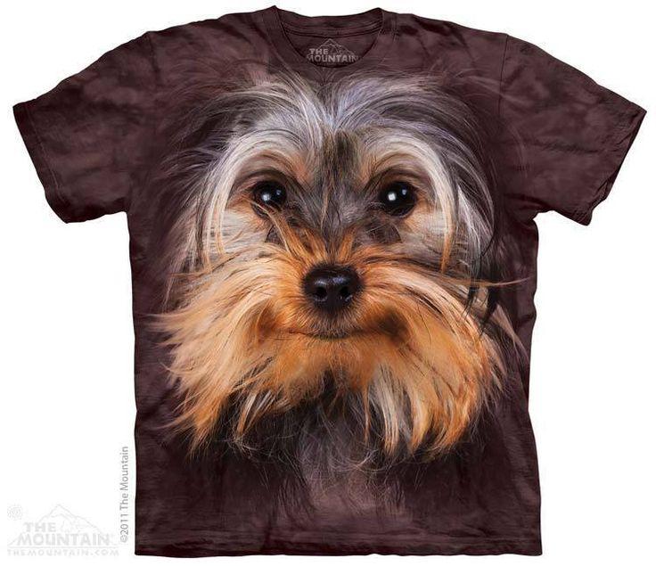 Yorkie Face T Shirt