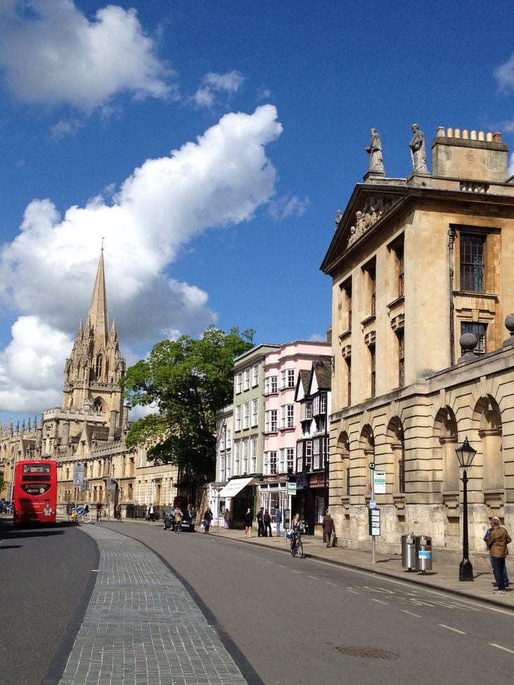 One of my favorite places in the world! I studied abroad in England, and fell in love with Oxford before I set foot outside the coach.
