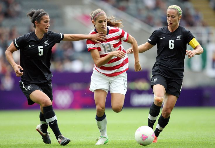 Awesome US soccer player Alex Morgan #13