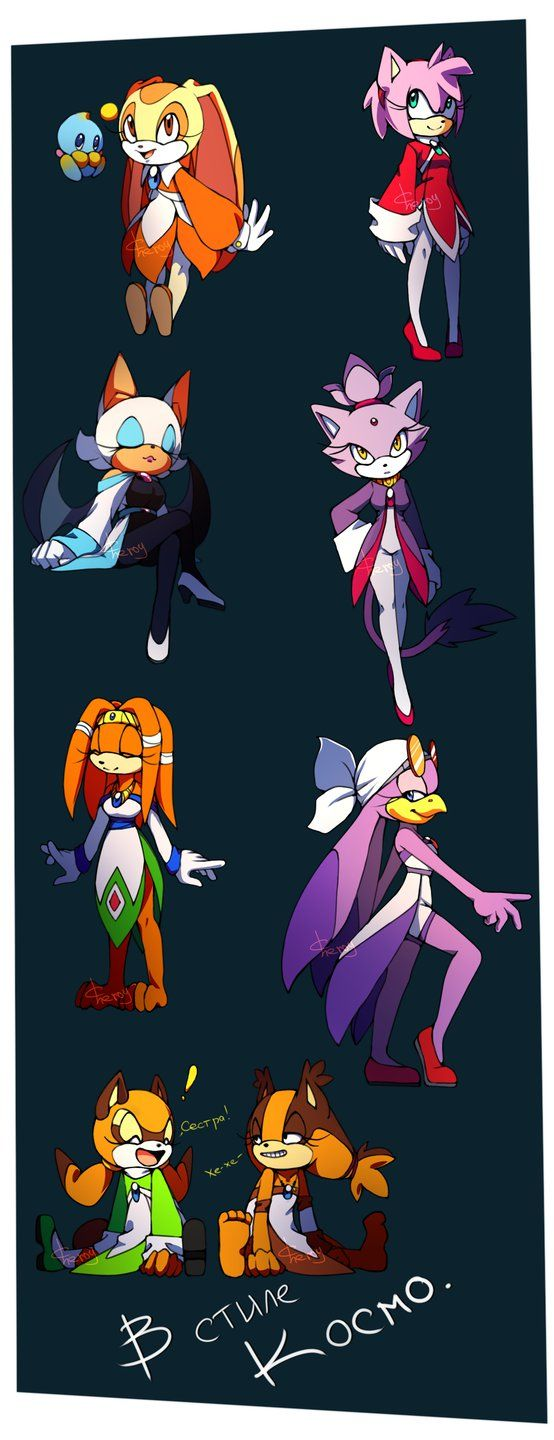 In Cosmo style. by Cheroy on DeviantArt