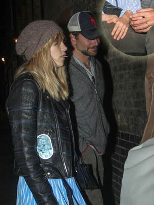 Suki Waterhouse and Bradley Cooper spotted wearing matching rings