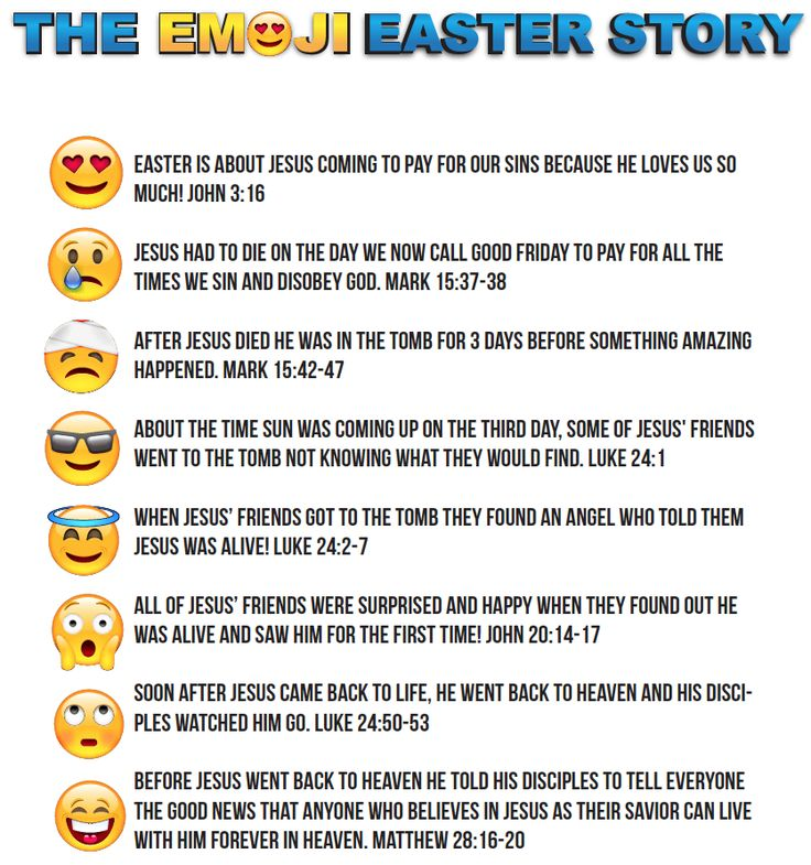 The Emoji Easter Story for Kids