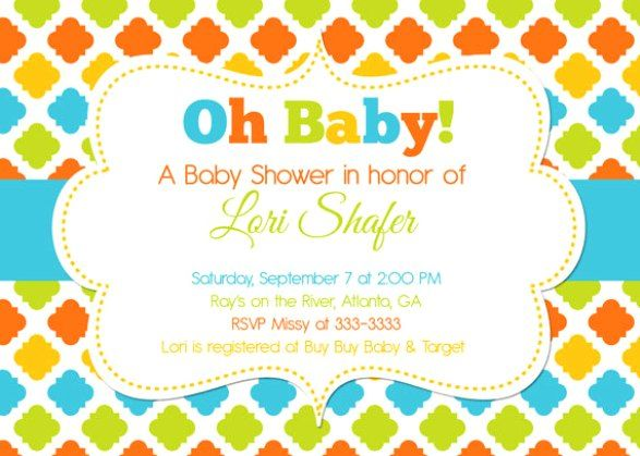 105 best tarjetas babyshower images on pinterest shower baby free online baby shower invitations templates filmwisefo Image collections