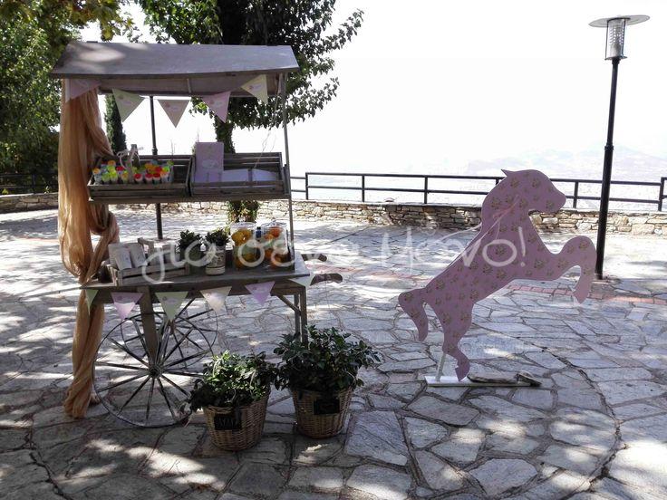 Carousel Baptism // Βάπτιση κοριτσιού με θέμα Carousel #carousel #baptism #christening #girl #pink #pelion #laveranda #xeniahotel #volos #lydia http://giasenamono.gr/
