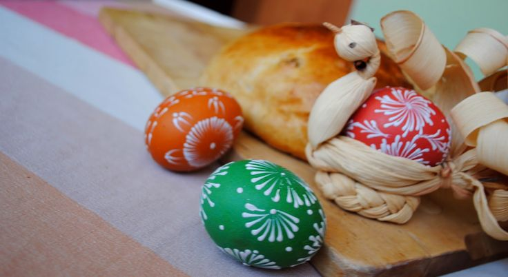 eat run love: Celozrnný mazanec + velikonoční pečení