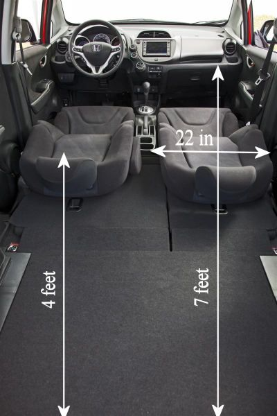 i just measured my honda fit and here are the interior. Black Bedroom Furniture Sets. Home Design Ideas