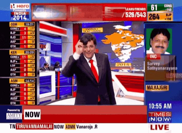 Arnab Goswami Was The Real Hero Of India's Elections - http://joronomo.com/arnab-goswami-was-the-real-hero-of-indias-elections/ - #CelebrityNews, #Comedians, #Comedy, #Funny, #FunnyNews, #Jokes