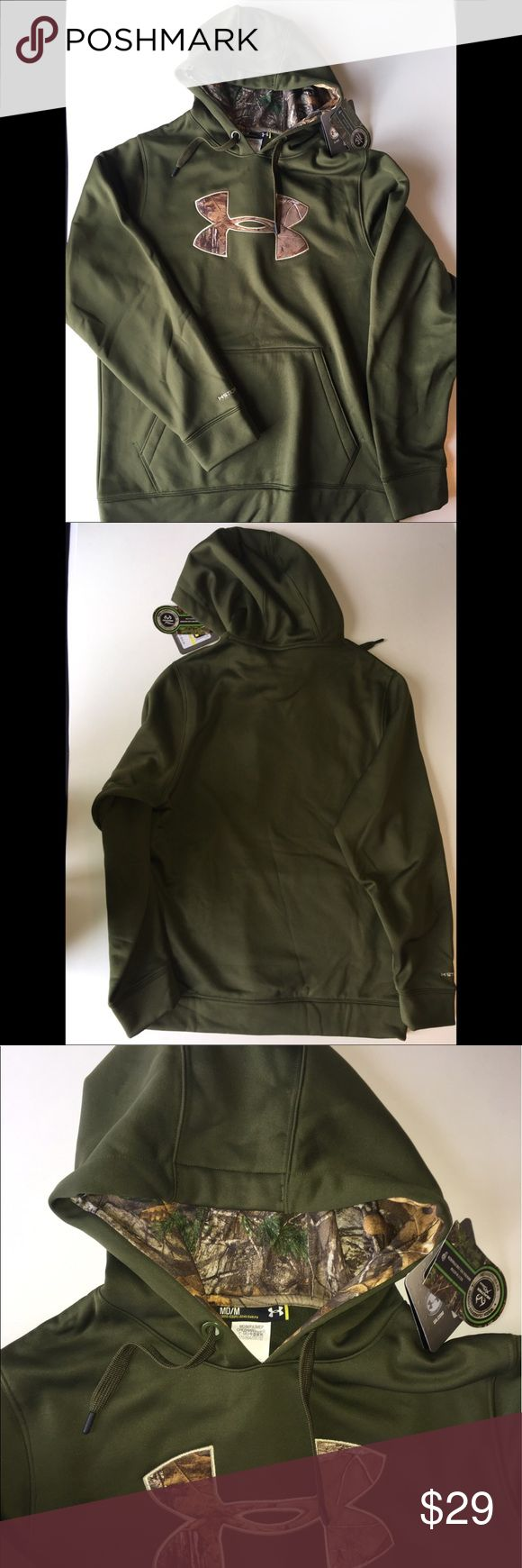 Brand New‼️ Under Armour Camo sweatshirt size M Brand New‼️ Under Armour Camo sweatshirt size M Under Armour Shirts Sweatshirts & Hoodies