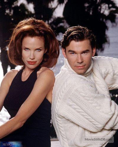 Sunset Beach promo shot of Clive Robertson & Sarah Buxton
