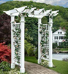 Fairfield Cottage Picket Gate . $329.95. Fairfield Cottage Picket Gate. When you want the beauty and style of classic garden features without the never-ending maintenance, our long-lasting vinyl arbors are for you. They feature the timeless look of painted wood without warping, cracking, rotting or peeling. You'll enjoy classic good looks and long-lasting construction without staining, sanding or stripping. Just assemble and enjoy for a lifetime! Inspired by the...