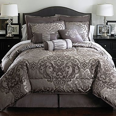 Richmond 7 pc comforter set jcpenney home goodies pinterest comforter and comforter sets for Jcpenney bedroom furniture sale
