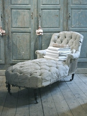 love the chaise love the color love everything here especially against a dark stained floor it would be stunning