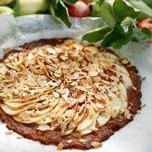 Den här pajen är vansinnigt god och passar GI-fanatikern. Recept: Ulrika Davidsson, Ola Lauritzon Foto: Malte Danielsson