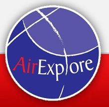Air Explore Logo. (SLOVAKIAN).