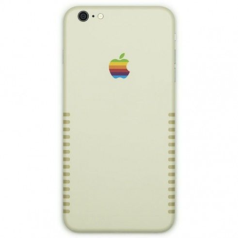 retro iPhone case/wrap