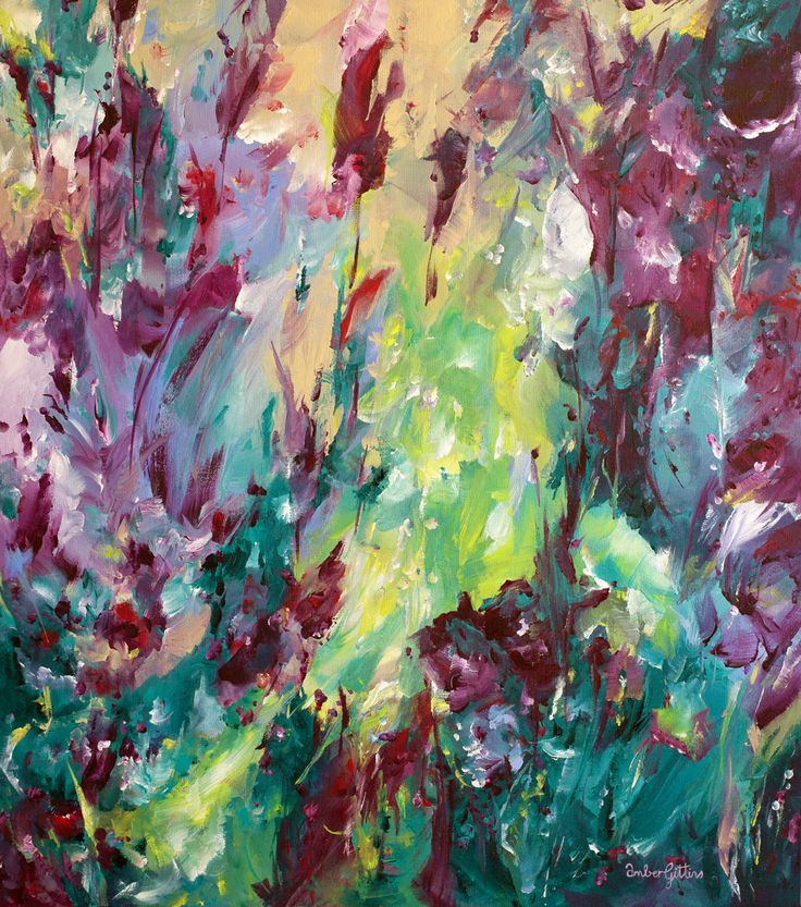 """Hidden Garden"" by Amber Gittins. Paintings for Sale. Bluethumb - Online Art Gallery"
