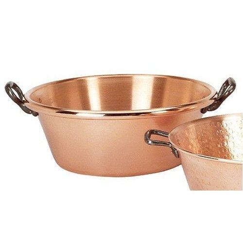bassine à confiture en cuivre - de buyer #cuisine | * happylist
