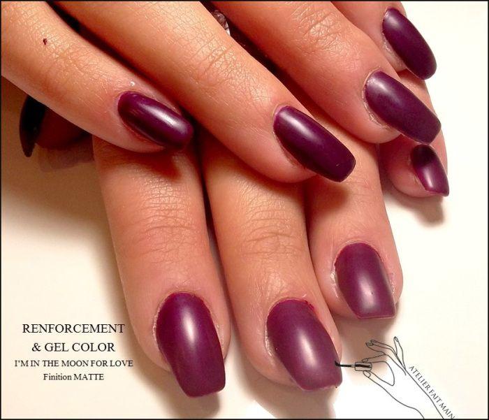 17 meilleures id es propos de ongles violets sur pinterest vernis ongles violet couleurs. Black Bedroom Furniture Sets. Home Design Ideas