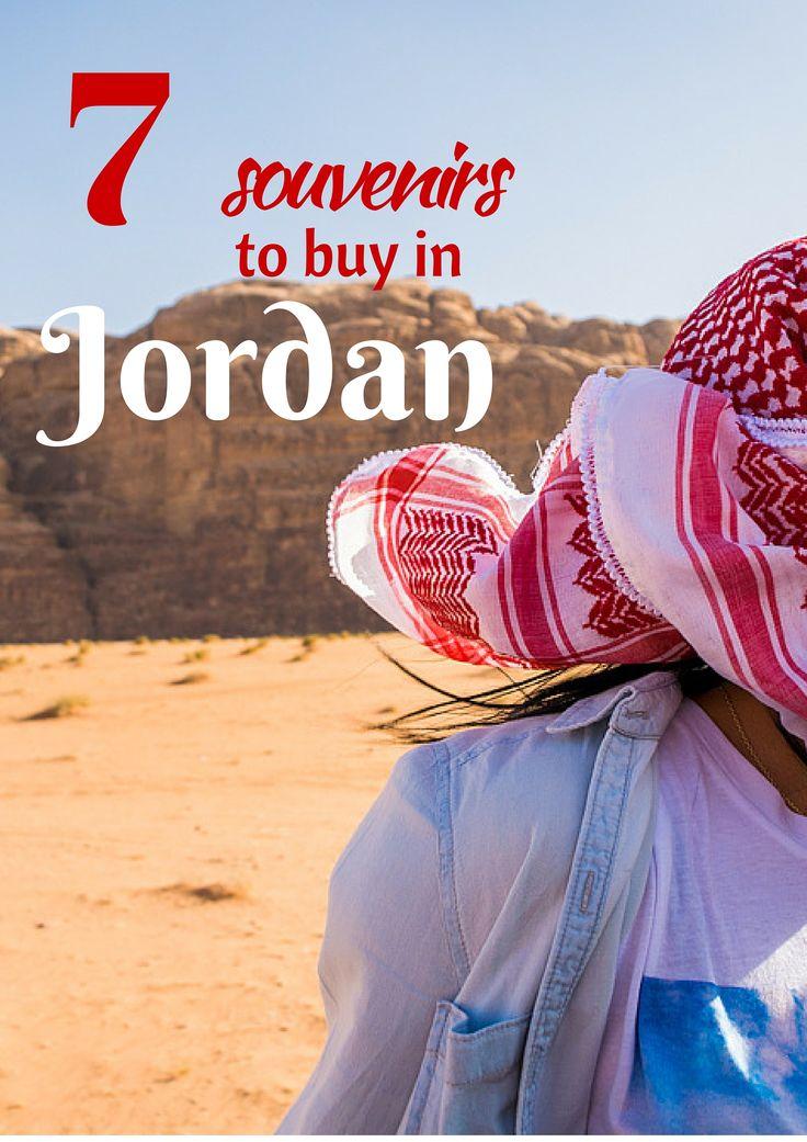 7 souvenirs to buy jordan