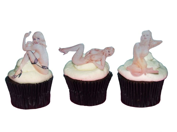 Valentines Day For Him - Naked Women Cake Topper, Edible, Sexy, Guys Birthday…