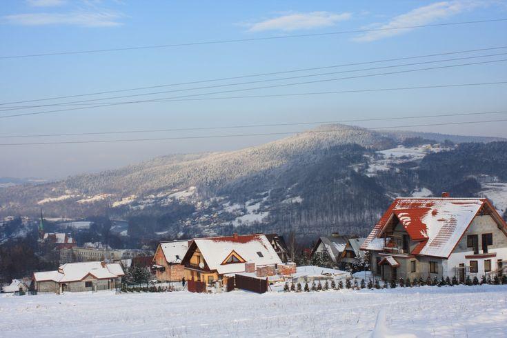 Sucha Beskidzka - zima  #Sucha #Beskidzka #Polska #małopolskie #powiat #suski #Beskidy #Poland