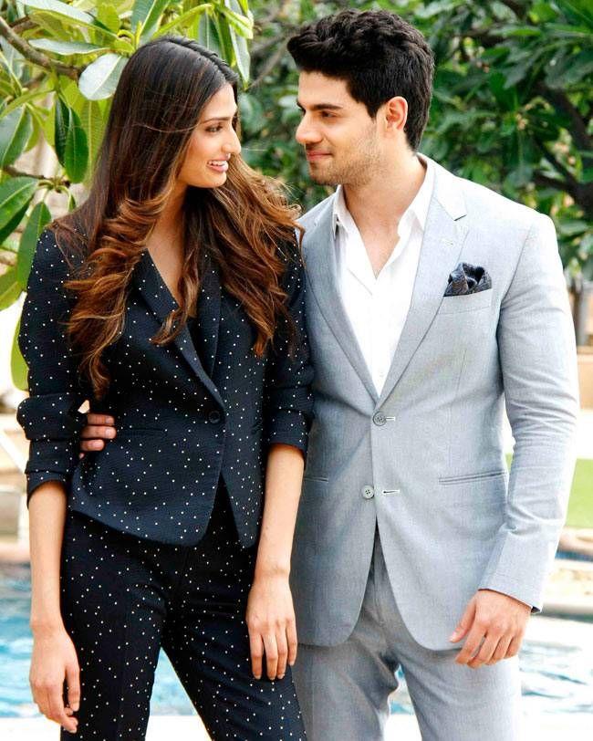 Athiya Shetty, Sooraj Pancholi at #Hero promotions #photoshoot. #Bollywood #Fashion #Style #Beauty #Handsome