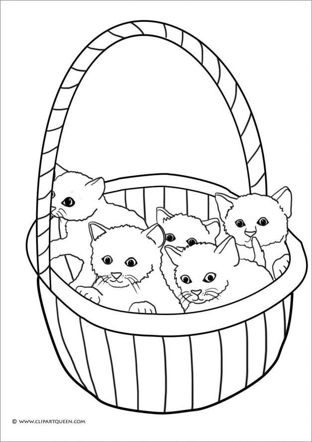 Cute Kitten Coloring Pages Coloring Cute Kitten Coloring Pages Cute Kitten Color Kitten Coloring Book Cat Coloring Page Kittens Coloring