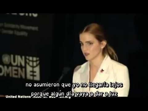 Discurso de Emma Watson en las Naciones Unidas - HeForShe - Subtitulado ...
